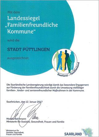 Landessiegel familienfreundliche Kommune