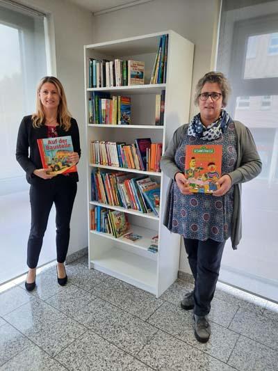 Unser Bündnispartner Kinderschutzbund weiht Bücherschrank ein